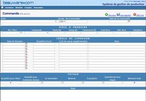 ERP gestion de production et  POS vente sur appareil mobile